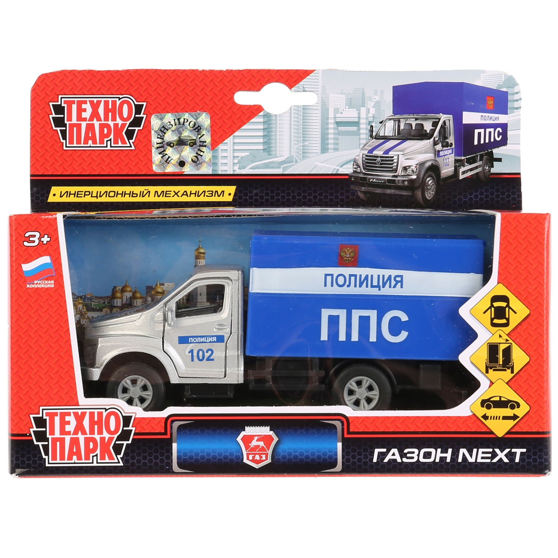 Машинка-игрушка Технопарк SB-18-17-P-WB игрушка технопарк газ 13 чайка милиция 6410 d x600 h09082 r
