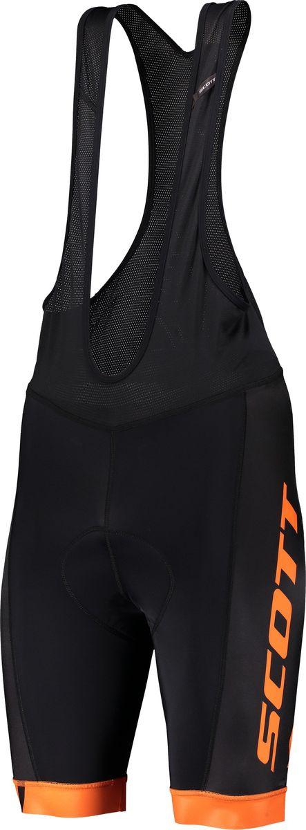 Велошорты мужские Scott Bibshorts M's RC Team ++, 270457-6124, черный, размер L (50/52)