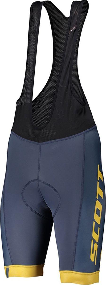 Велошорты мужские Scott Bibshorts M's RC Team ++, 270457-6123, синий, размер XXL (58)
