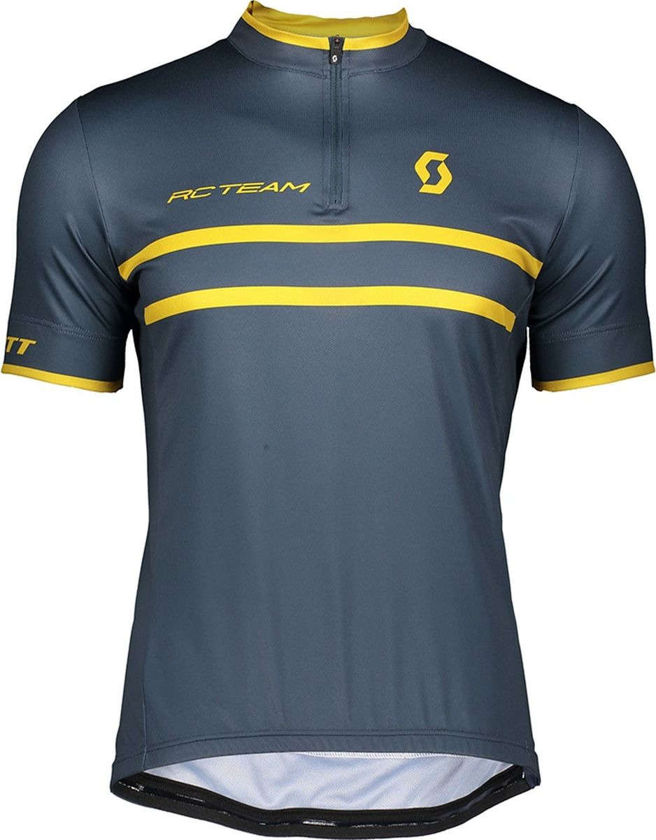 Веломайка мужская Scott Shirt M's RC Team 20 s/sl, 270456-6123, синий, размер XL (54/56) рубашка мужская levi s® jackson worker цвет красный синий 1957300880 размер xl 52 54