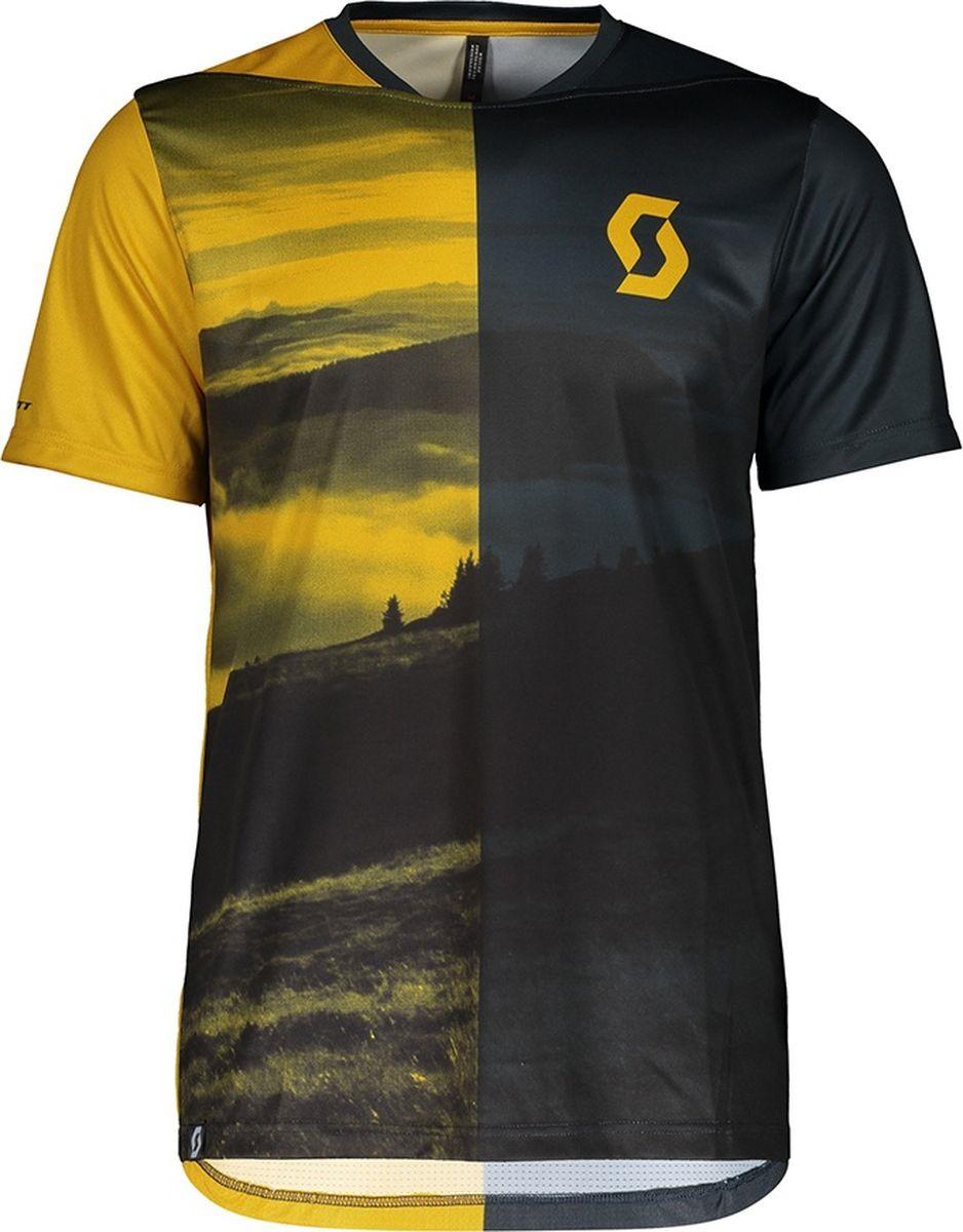 Веломайка мужская Scott Shirt M's Trail Flow s/sl, 270476-6184, серый, размер L (50/52)