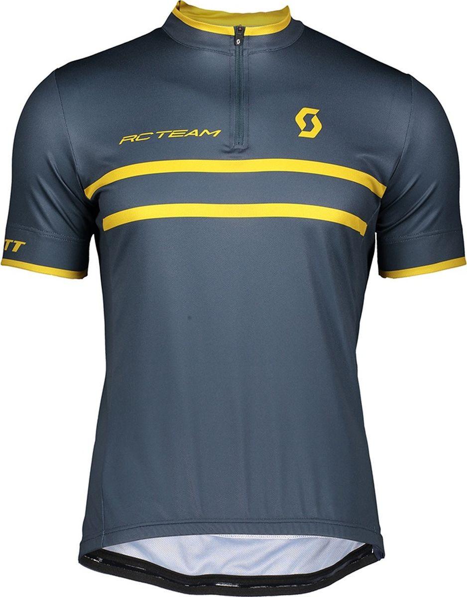 Веломайка мужская Scott Shirt M's RC Team 20 s/sl, 270456-6123, синий, размер S (44/46)