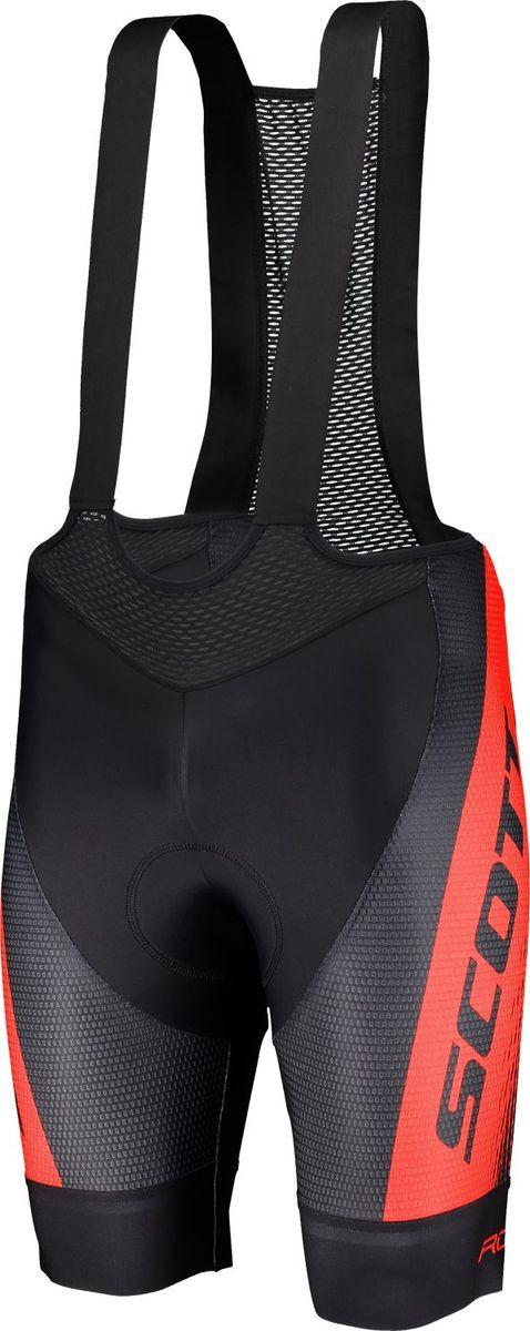 Велошорты мужские Scott Bibshorts M's RC Pro +++, 270449-3176, черный, размер XL (54/56)