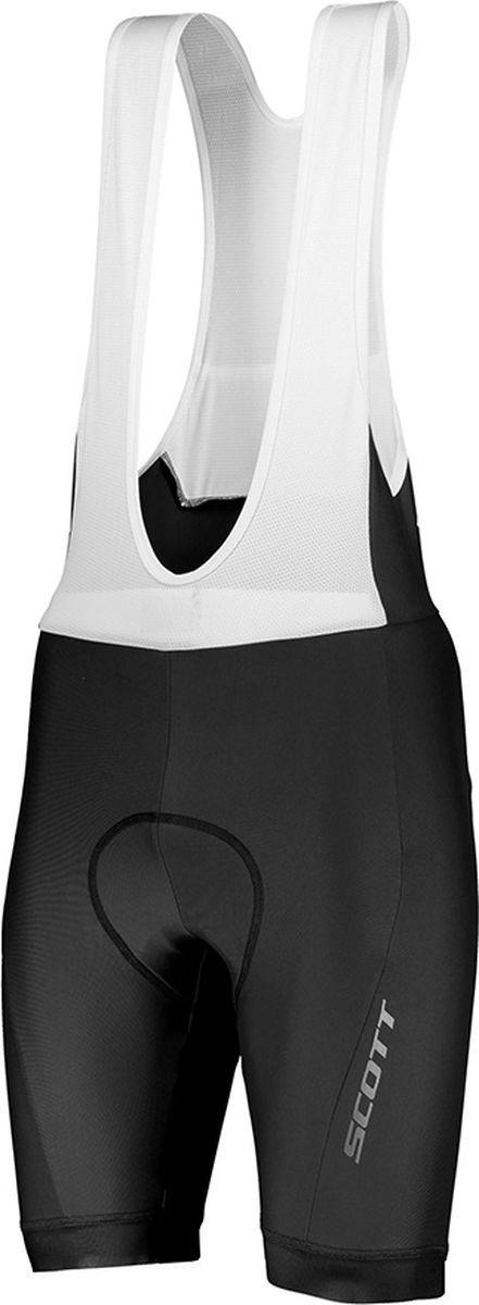 Велошорты мужские Scott Bibshorts M's Endurance +++, 270464-0001, черный, размер M (46/48)