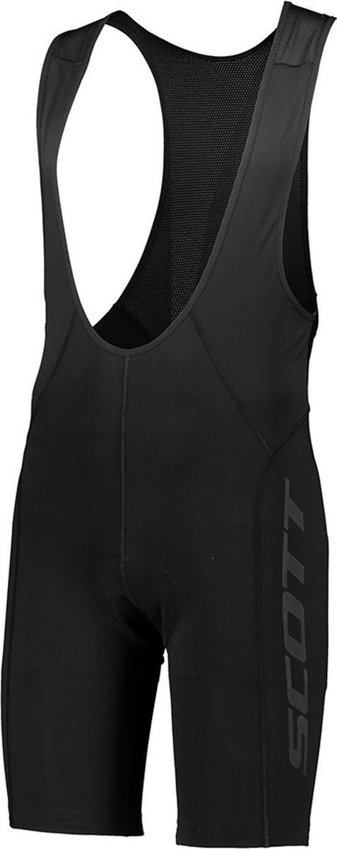 Велошорты мужские Scott Bibshorts M's Endurance +, 264840-0001, черный, размер S (44/46)