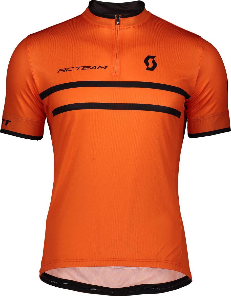 Веломайка мужская Scott Shirt M's RC Team 20 s/sl, 270456-6127, оранжевый, размер S (44/46)