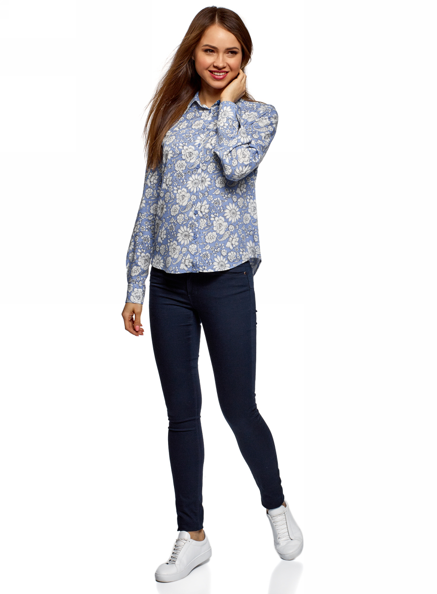 Блузка oodji Ultra пиджак с отложным воротником b young