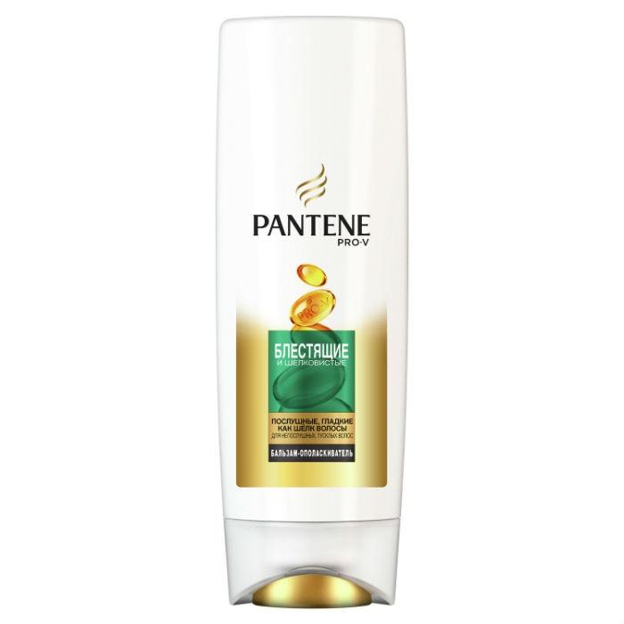 Бальзам для волос Pantene Pro-V Бальзам-ополаскиватель Блестящие и шелковистые, 200 мл