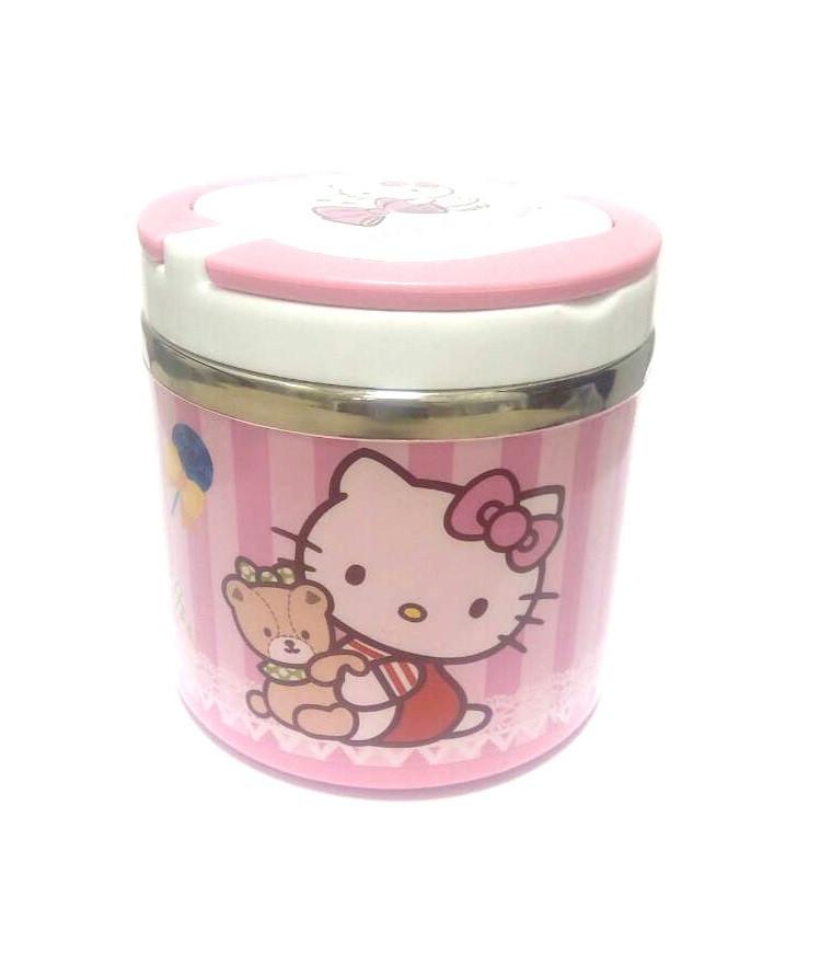Ланч-бокс Migliore Hello Kitty, Пищевой пластик, Нержавеющая сталь