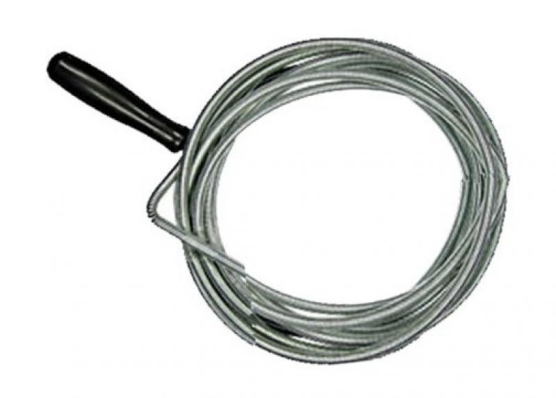 Вантуз Migliore Трос для прочистки канализации, Металл, Пластик трос для прочистки канализационных труб 9 мм х 10 м
