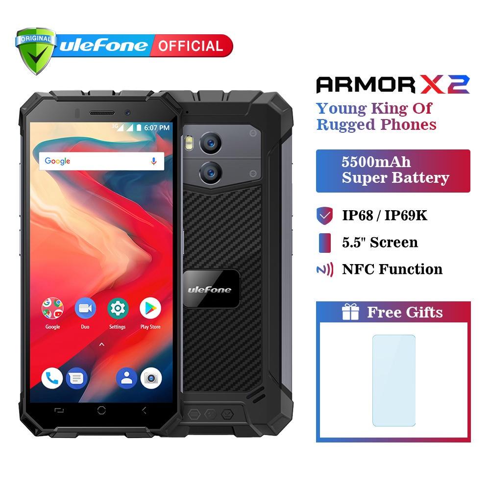 Смартфон Ulefone Armor X 2 16 GB, темно-серый Ulefone