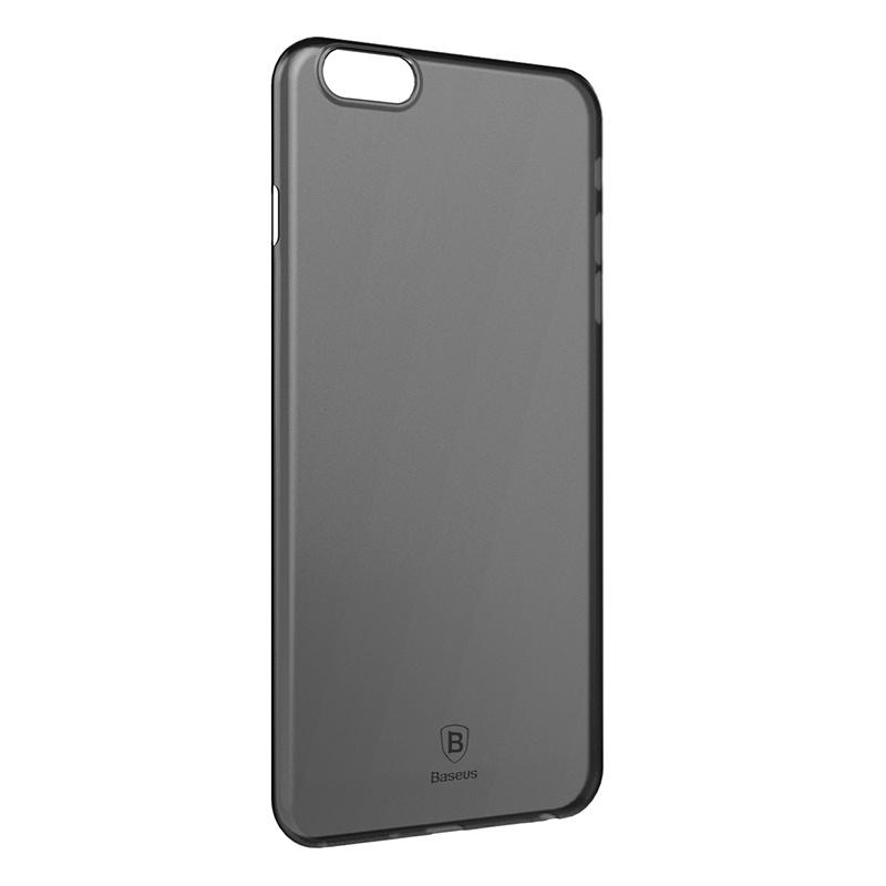 Чехол для сотового телефона Baseus WIAPIPH6SP-E01, черный baseus guards case tpu tpe cover for iphone 7 plus blue