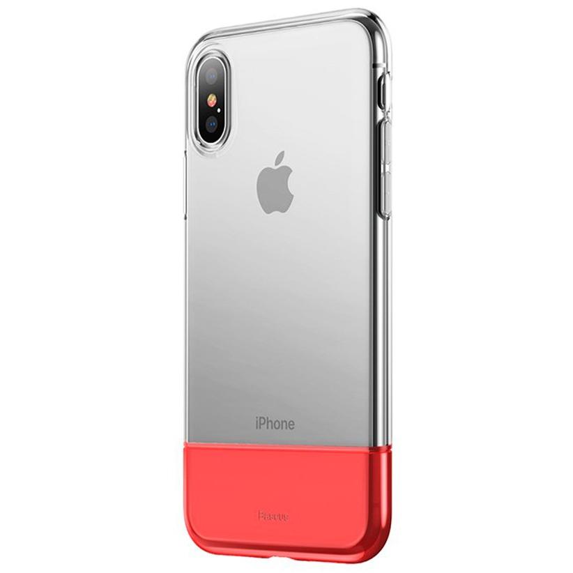 Чехол для сотового телефона Baseus WIAPIPH65-RY09, красный