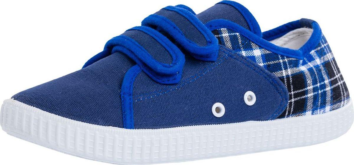 Кеды для мальчика Котофей, цвет: синий. 741022-13. Размер 36741022-13