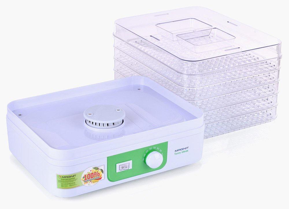 Электросушилка для овощей и фруктов Magnit, 250 Вт