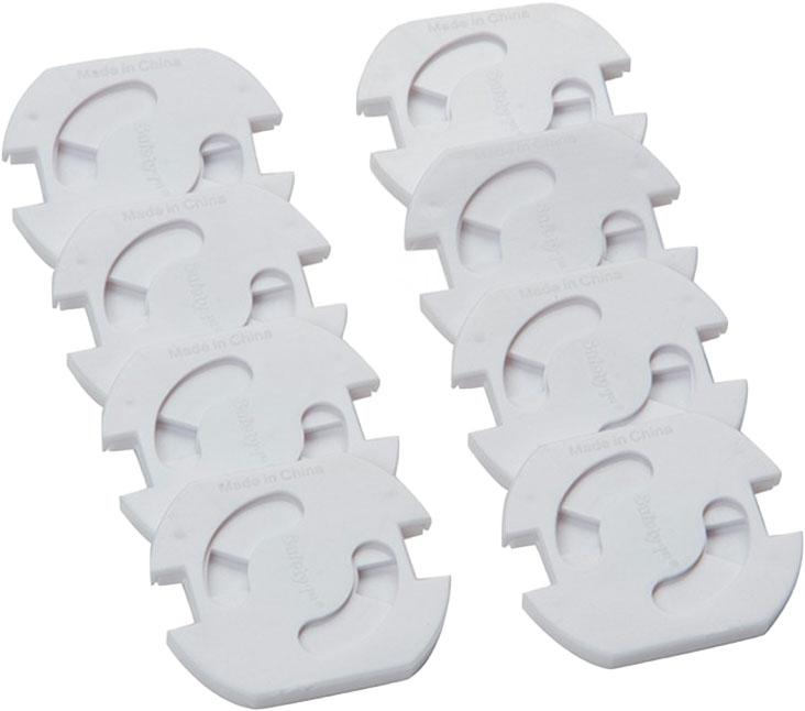 Крышка для розеток Safety 1st (8 шт.), белый