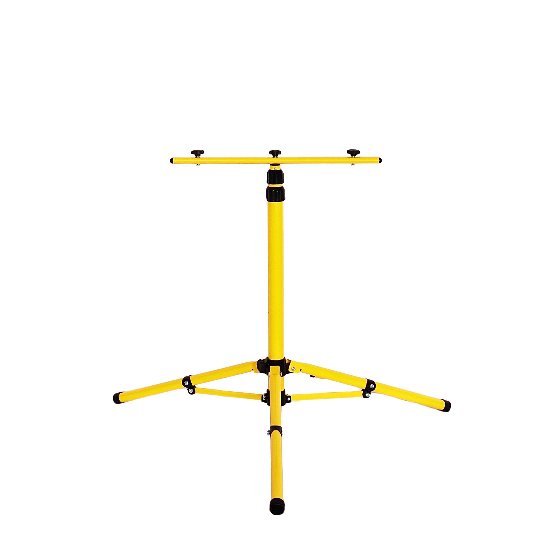 Монтажное крепление Glanzen STD-0001-160, стойка для прожекторов, желтый