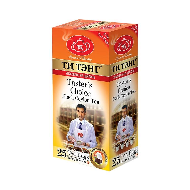 """Чай в пакетиках ТИ ТЭНГ 404325, 62,5404325Изысканный сорт пакетированного черного чая с высокогорных плантаций. Его насыщенный настой концентрирует в себе максимум вкуса, аромата и крепости чайного напитка. На Цейлоне этот сорт признан профессиональными титестерами """"эталоном чайного вкуса""""!"""