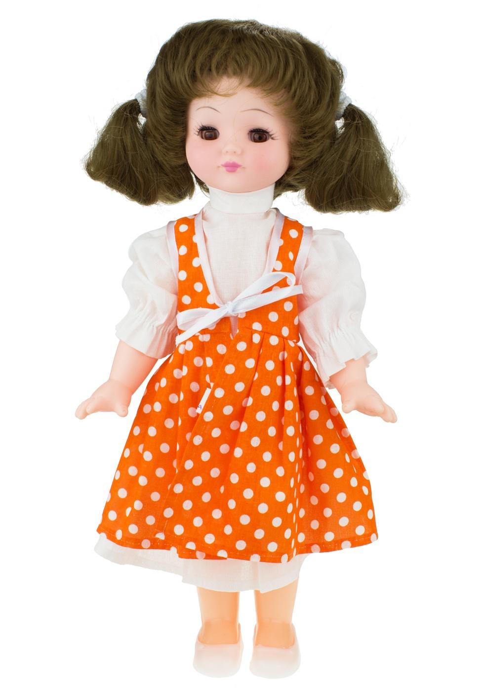 Кукла Мир кукол Кристина оранжевый куклы мир кукол кукла ася пак 35 см