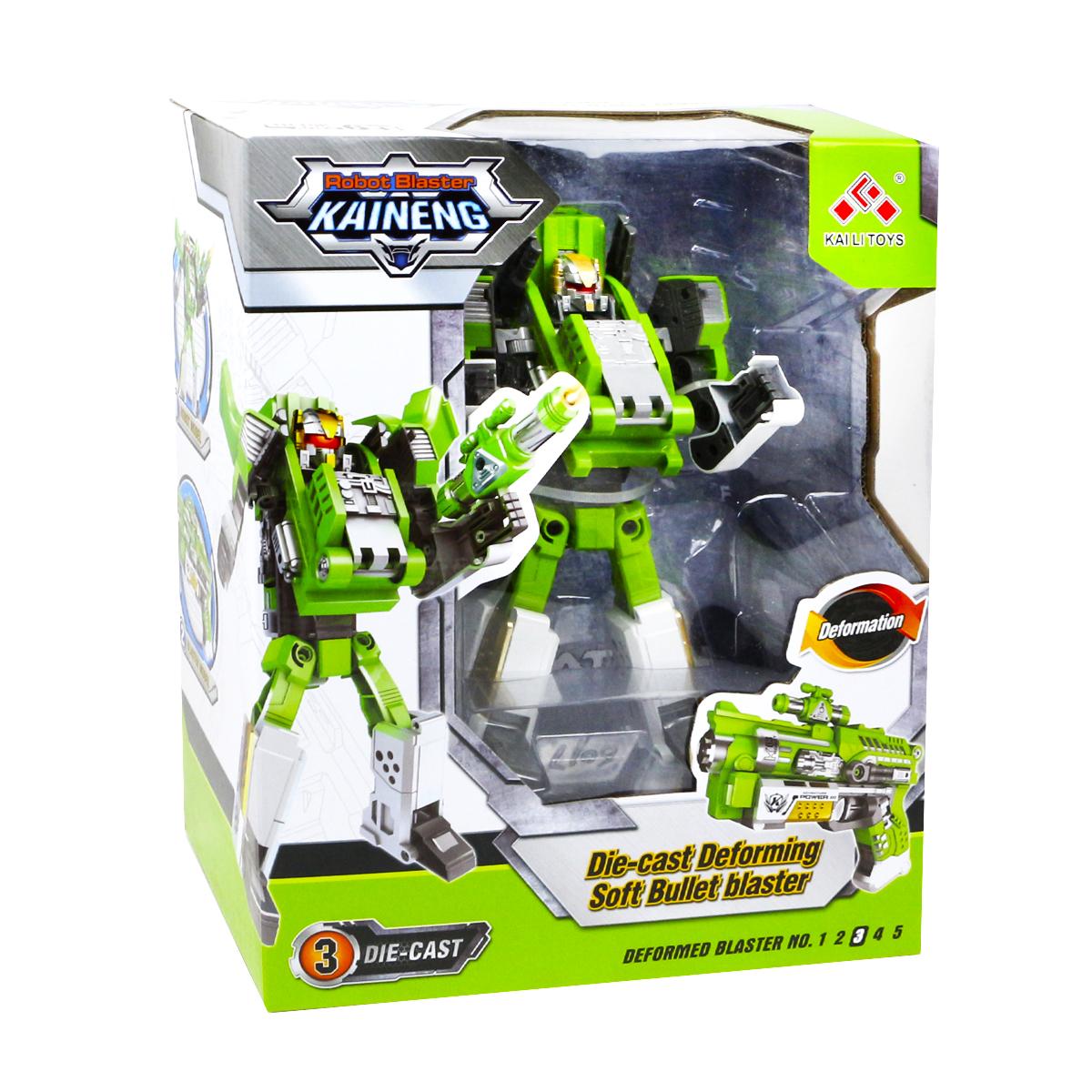 Игрушечный робот JT TOYS SB453/ зеленый yako робот трансформер цвет желтый зеленый