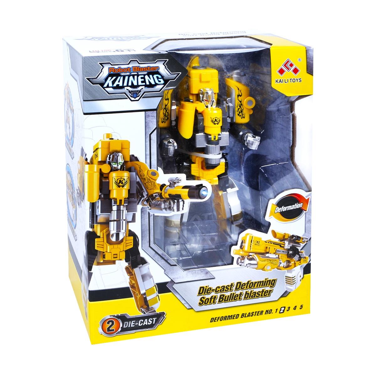 Игрушечный робот JT TOYS SB452/ желтый yako робот трансформер цвет желтый зеленый
