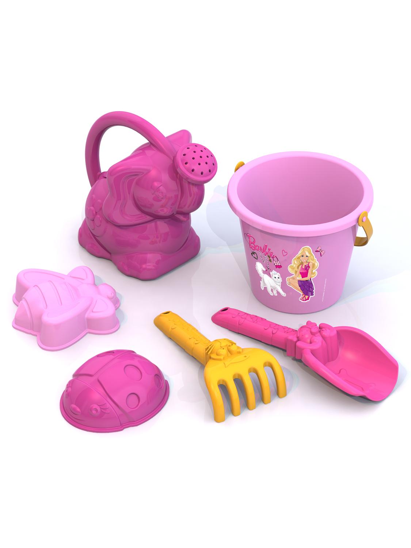 Игровой набор Нордпласт 431837 розовый игрушки в песочницу нордпласт набор формочек для песка крепость