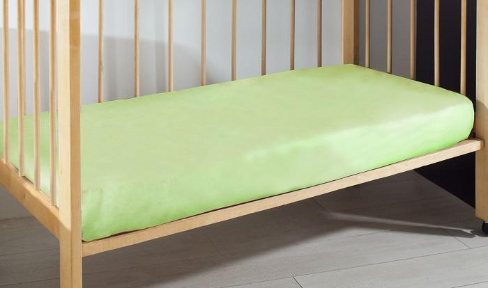 цены на Простыня Primavelle детская из перкали 120х180 св. зеленый  в интернет-магазинах