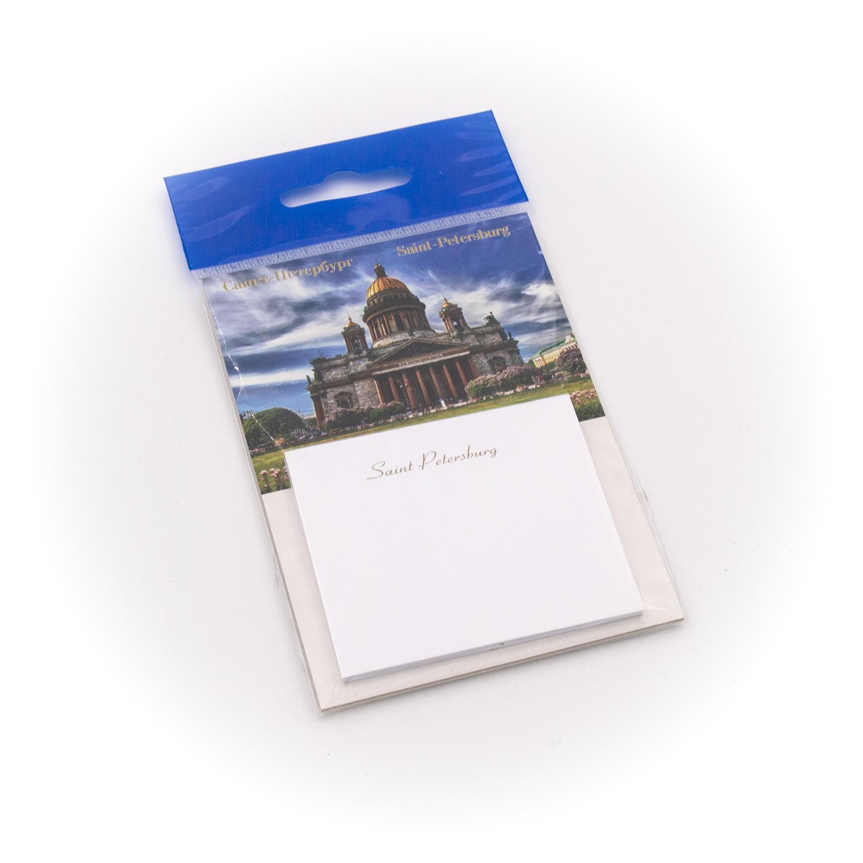 Бумага для заметок С Минимакс Исаакиевский собор. Крупно. синее небо, 32 цена и фото