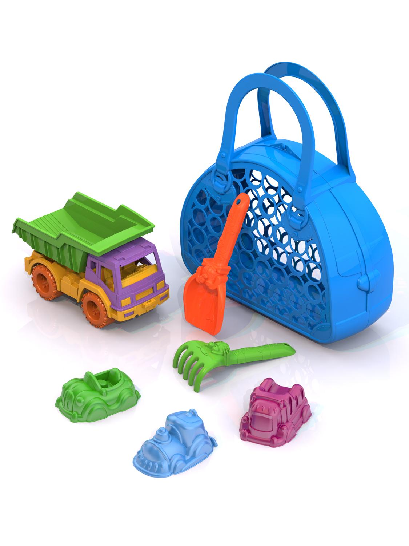 Игровой набор Нордпласт 431804 голубой игрушки в песочницу нордпласт набор формочек для песка крепость