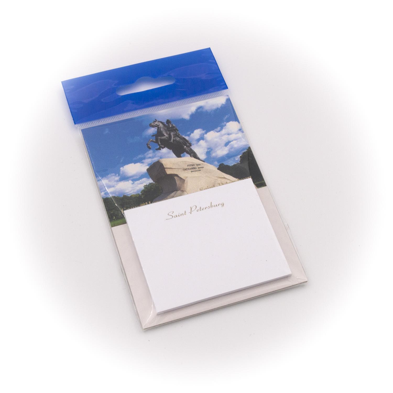 Бумага для заметок С Минимакс Медный всадник. Синее небо, 32 бумага для заметок с минимакс медный всадник зима 32