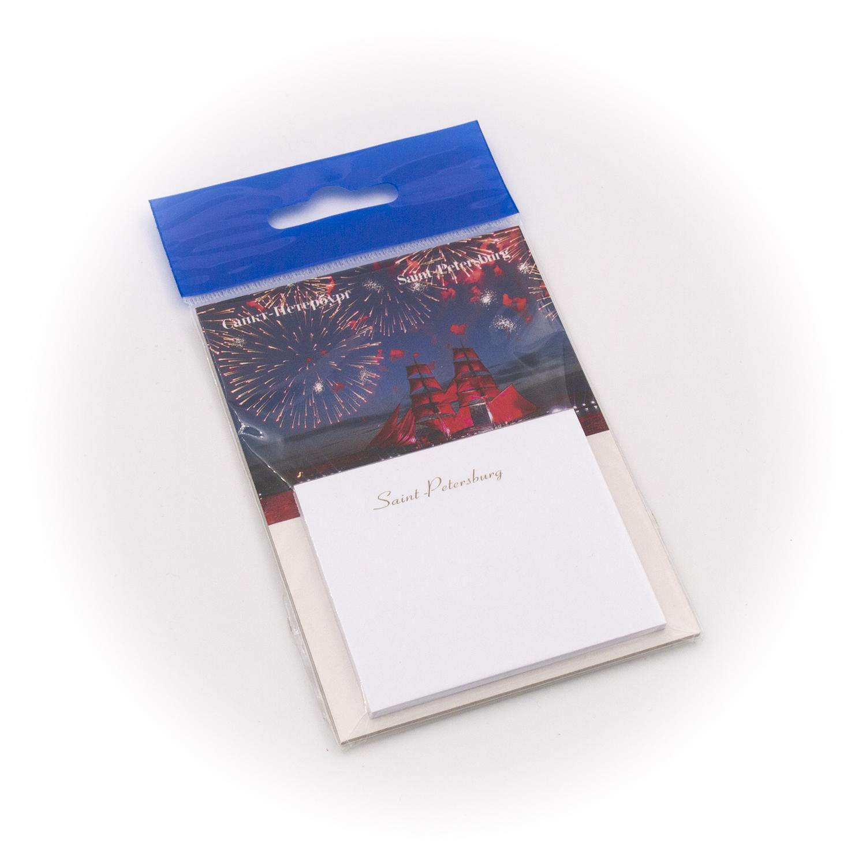 Бумага для заметок С Минимакс Алые Паруса, 32 цена и фото