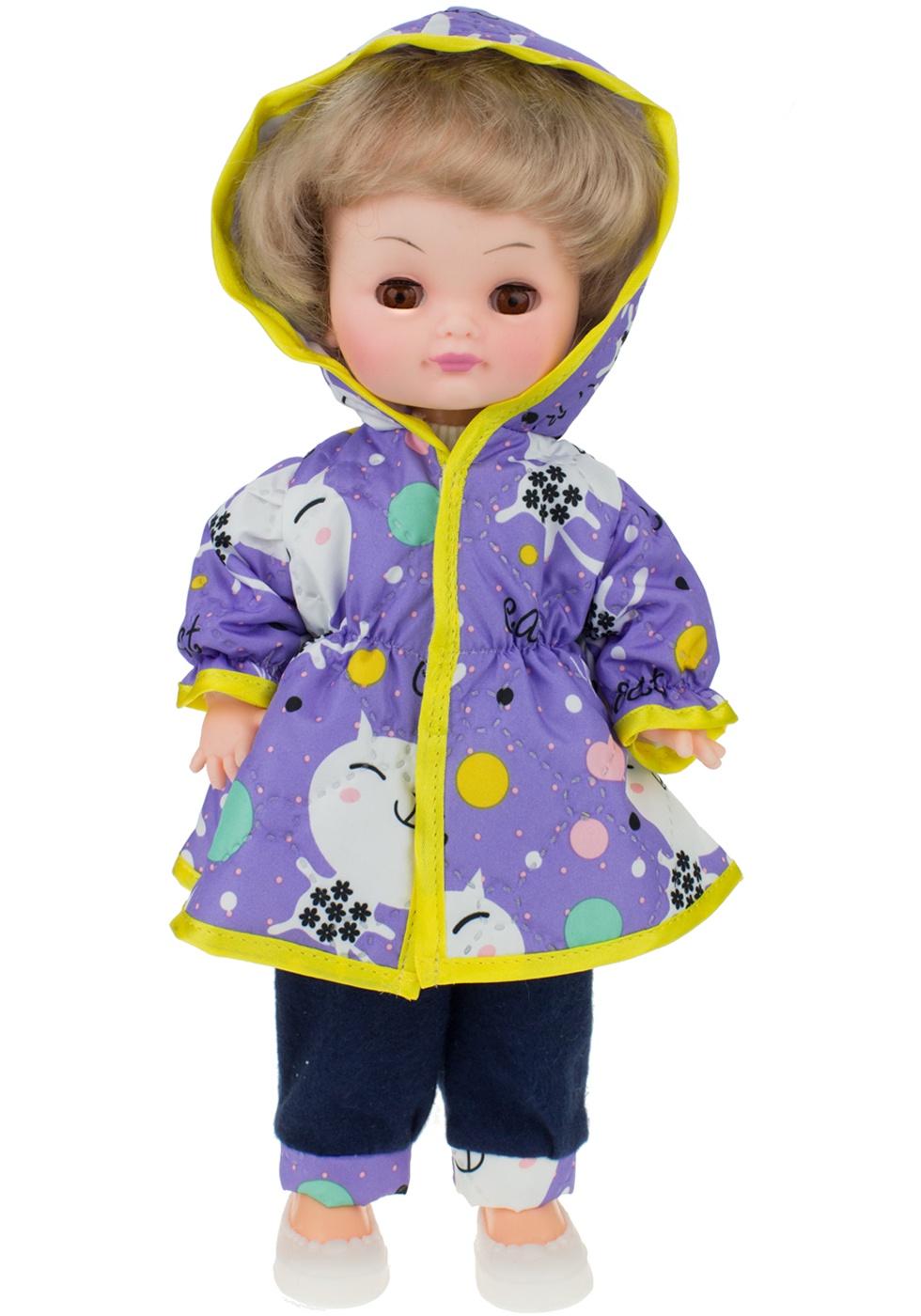 Кукла Мир кукол Лиля Осень фиолетовый