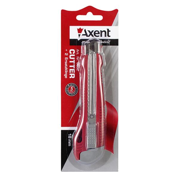 Нож канцелярский Axent 178-6602-A канцелярский нож index icu563