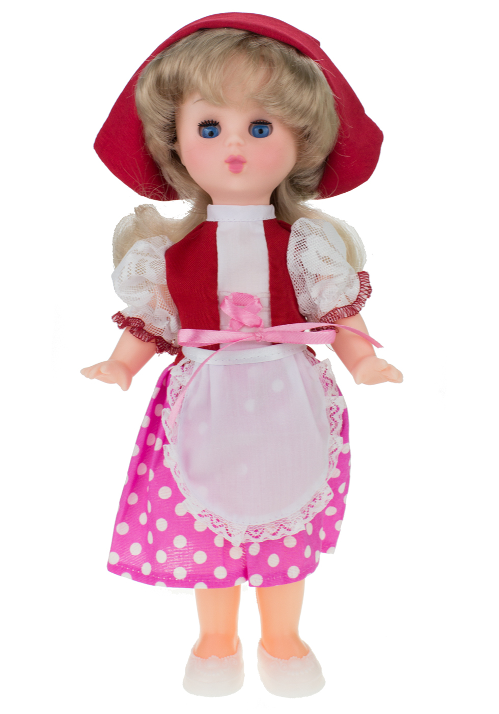 Кукла Мир кукол Красная Шапочка красный