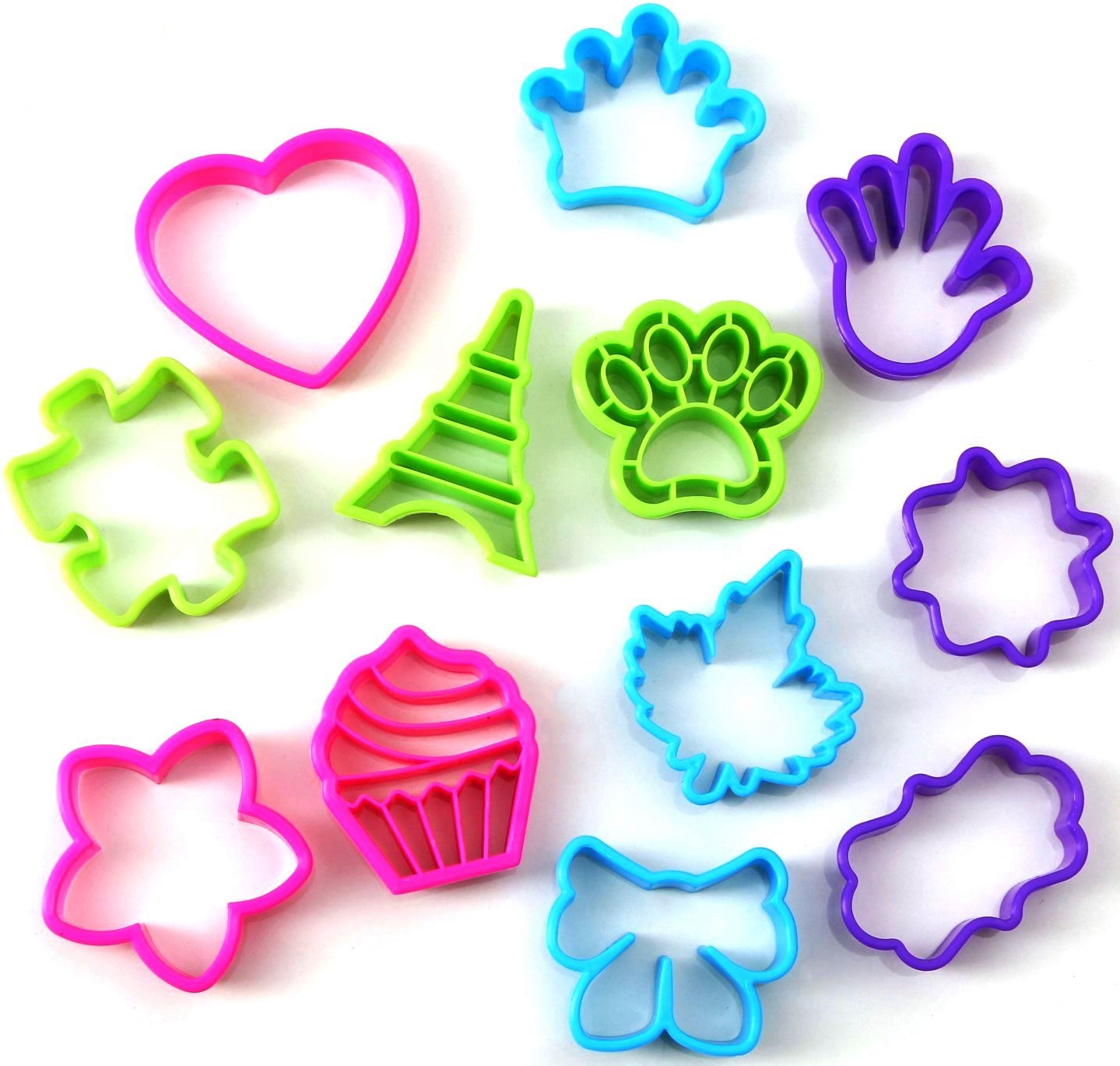 Форма для выпечки Fidget Go Воображение, голубой, фиолетовый, зеленый, розовый tayo футляр для хранения 2 х ножниц 21 5 см х 8 5 см х 2 5 см