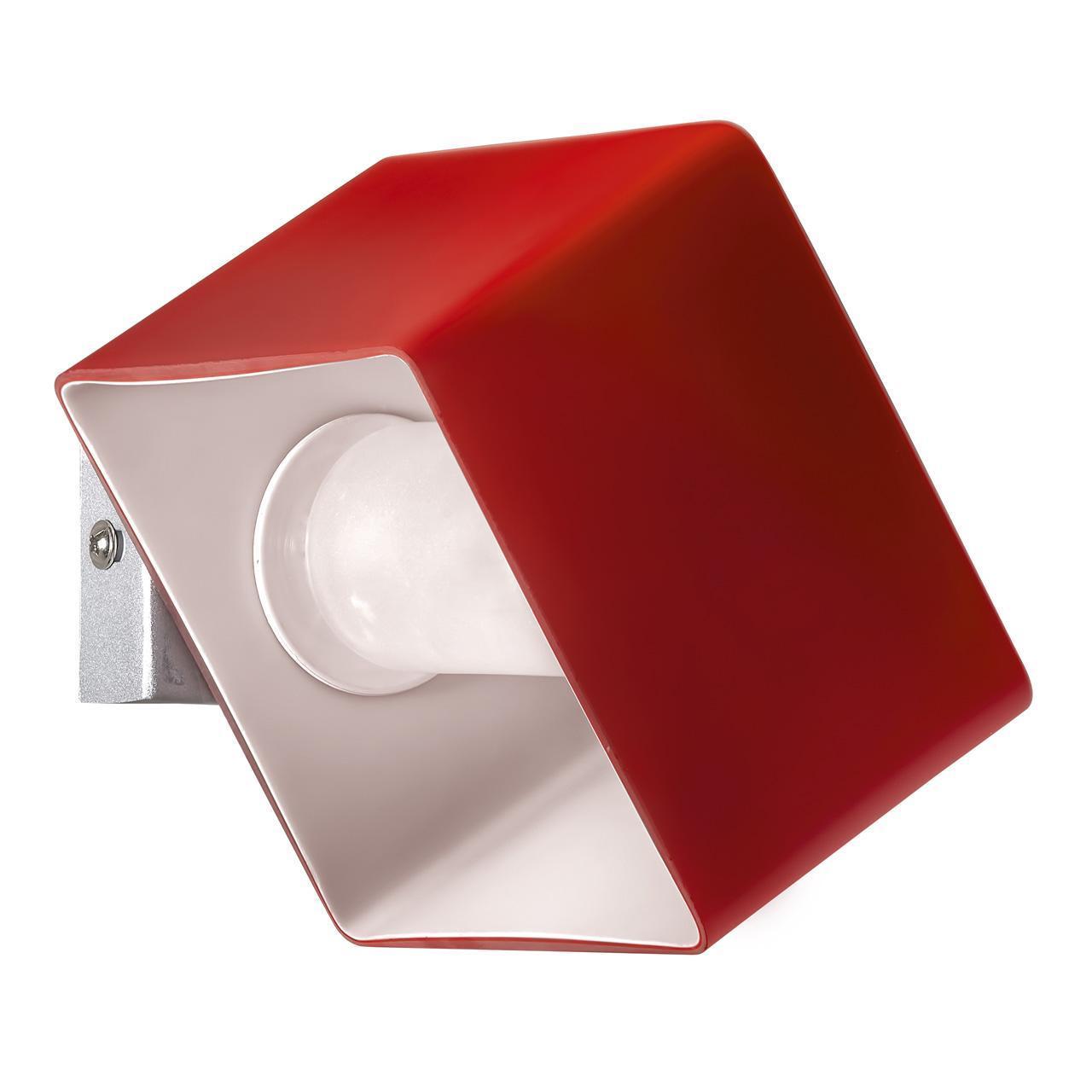 Настенный светильник Lightstar 801612, красный