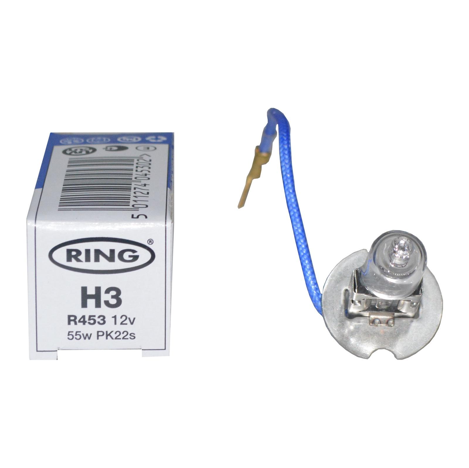 Лампа автомобильная RING R453R453Компания Ring Automotive была основана в 1974 году в английском городе Лидсе как производитель автомобильных ламп, в XXI веке приобрела известность благодаря инновационным разработкам в сфере автомобильного света и автоэлектротехнической продукции.От первых лампочек в сдвоенном блистере, и до самых современных разработок, Ring непрерывно совершенствует технологии, чтобы гарантировать высочайшие качество и технологичность продукции. Наработки компании в области электрооборудования автомобиля, помогли Ring в разработке и внедрении в производство целого ряда других автомобильных электрических устройств, таких как аккумуляторы, автомобильные инверторы, зарядные устройства, фонари и другие автомобильные аксессуары. Кроме устройств для легковых автомобилей Ring имеет большой ассортимент продукции с напряжением питания 24В для грузовых автомобилей.