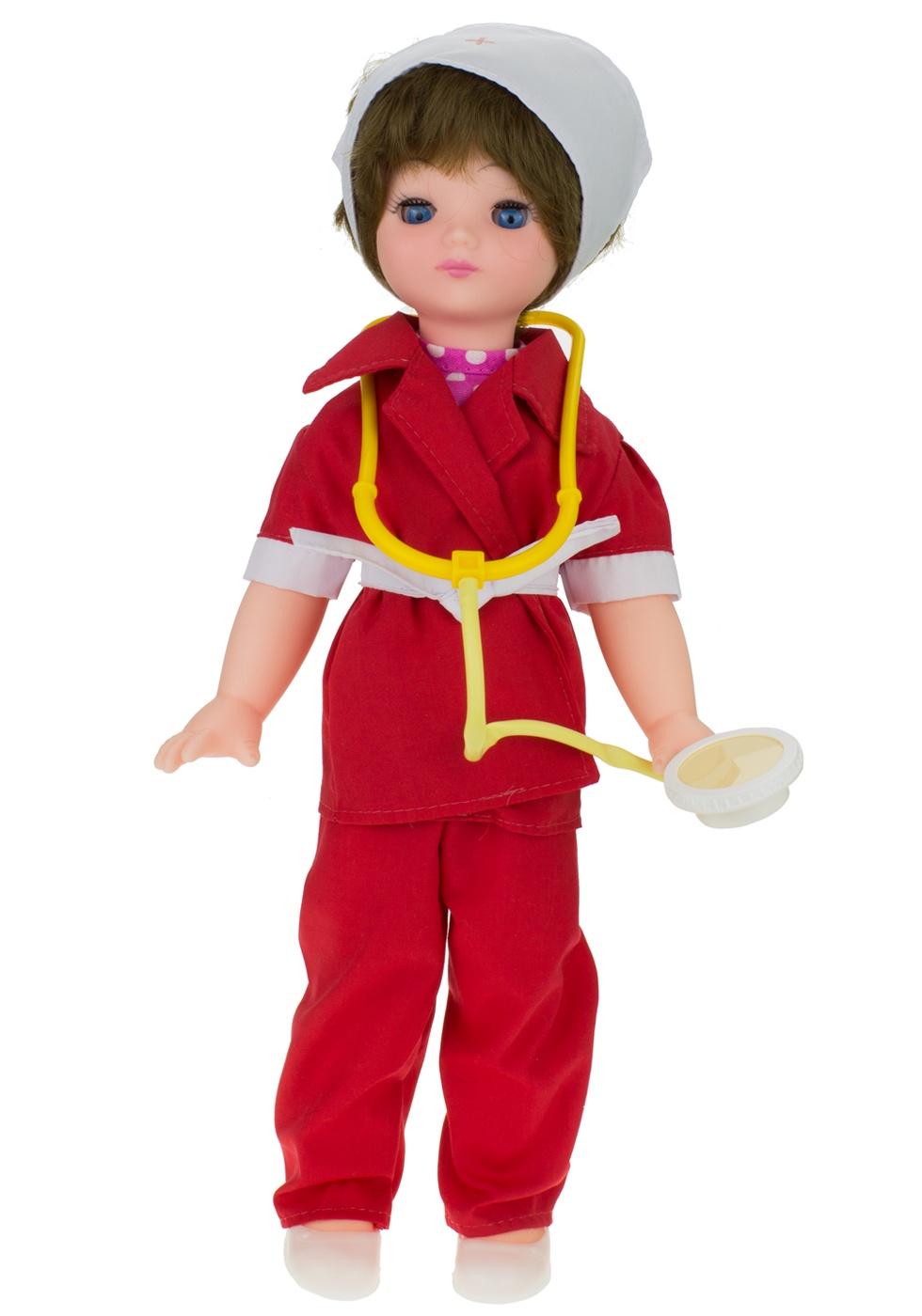 Кукла Мир кукол Врач М1 красный куклы мир кукол кукла ася пак 35 см