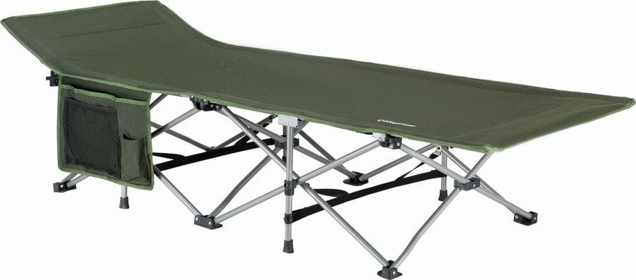 Кровать раскладная KingCamp Deluxe Folding Bed, KC8006, зеленый, 190 х 68 х 48 см