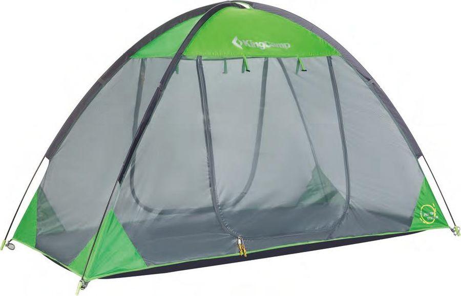 Палатка KingCamp Brindisi, KT4032, зеленый, серый, 210 х 100 х 120 см