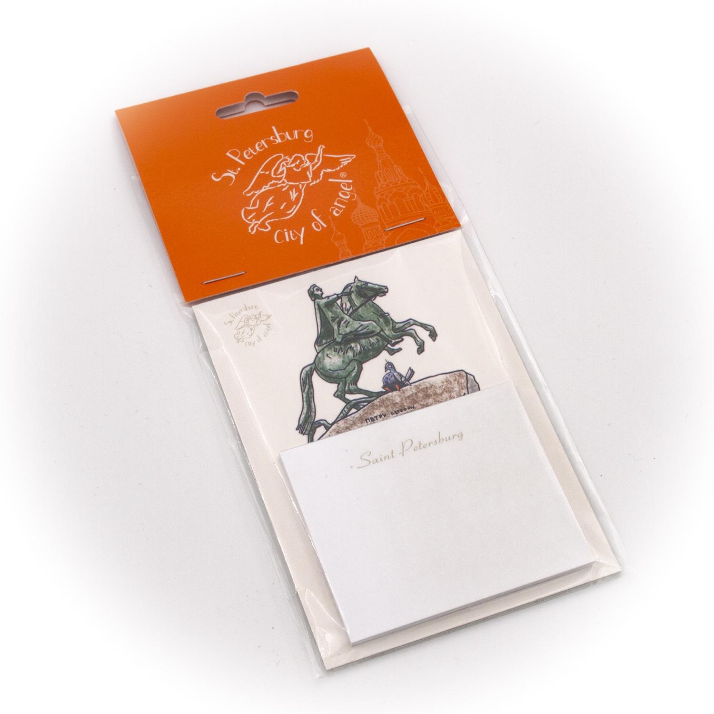 Бумага для заметок С Минимакс Медный всадник, 32 бумага для заметок с минимакс медный всадник зима 32