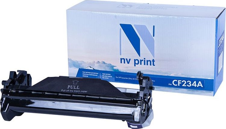 Фотобарабан NV Print NV-CF234A, для HP LaserJet Ultra M134a/M134fn/M106w, black