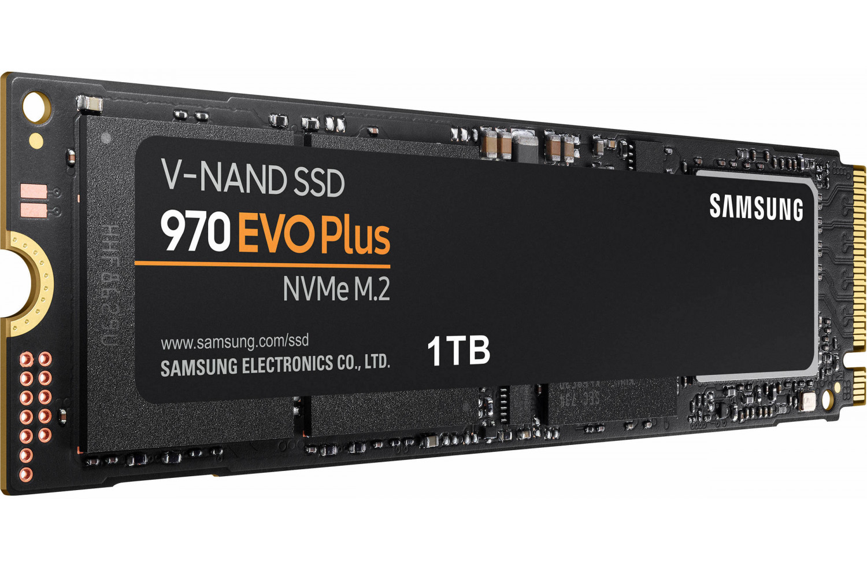 SSD диск 970 EVO Plus MZ-V7S1T0BW, черный ssd диск samsung 970 evo pci e x4 1tb mz v7e1t0bw