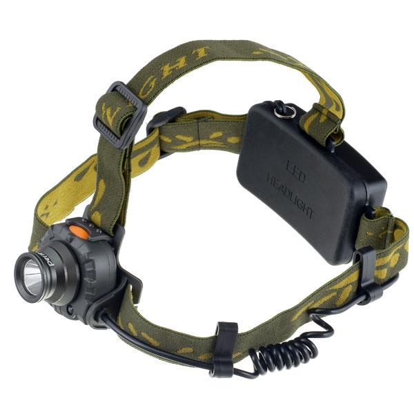 Налобный фонарь Perfeo LT-065-A, зеленый
