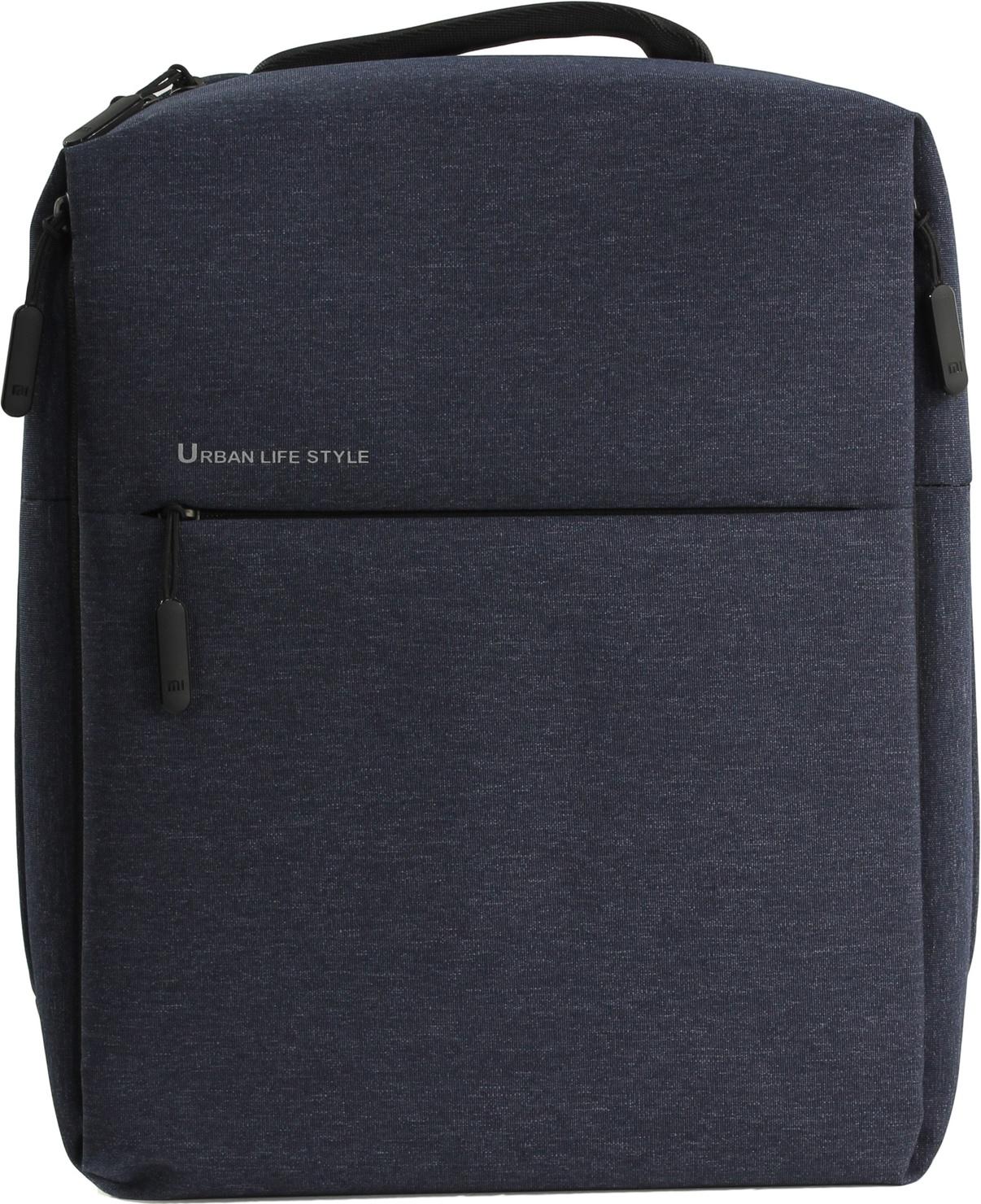 Рюкзак для ноутбука Xiaomi Mi City Backpack, темно-синий рюкзак xiaomi mi mini backpack 10l light blue
