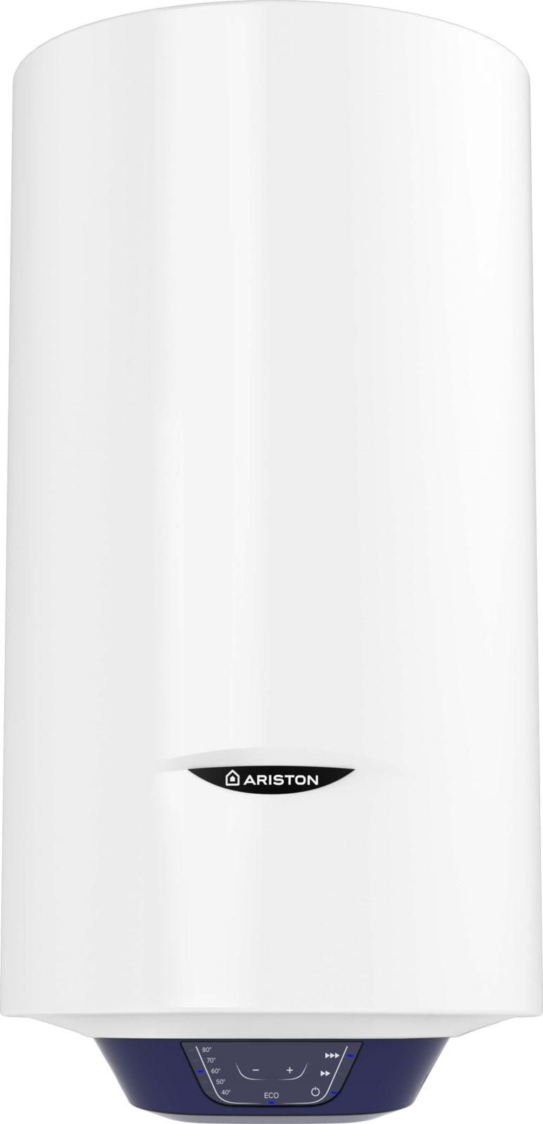 Водонагреватель накопительный электрический Ariston BLU1 Eco ABS PW 80 V Slim, 80 л, белый