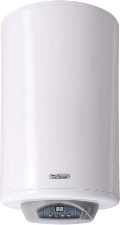 Водонагреватель DeLuxe W80V2, накопительный, белый водонагреватель накопительный deluxe w 80 v1