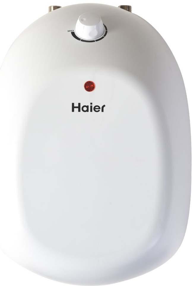 Водонагреватель накопительный электрический Haier ES8V-Q2(R), 8 л, белый электрический накопительный водонагреватель haier es15v q2 r