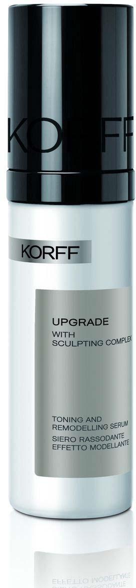 Сыворотка моделирующая и тонизирующая для лица Korff Апгрейд, 30 мл clarins v shaping facial lift сыворотка моделирующая контур лица v shaping facial lift сыворотка моделирующая контур лица