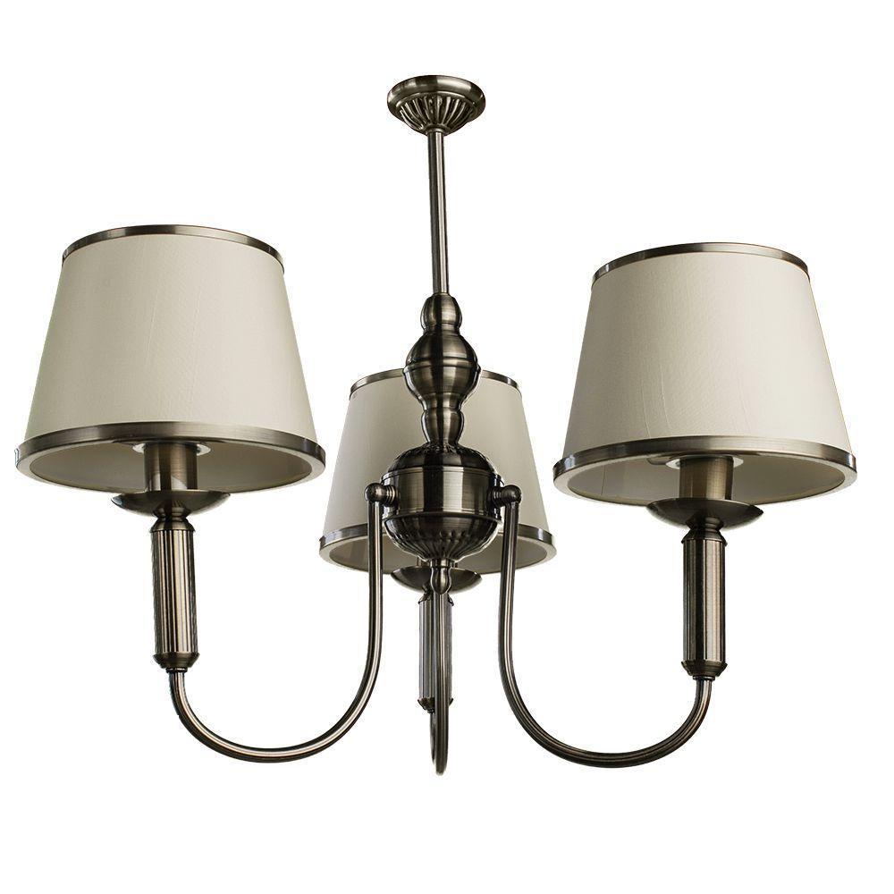 Потолочный светильник Arte Lamp A3579LM-3AB, бежевый цены